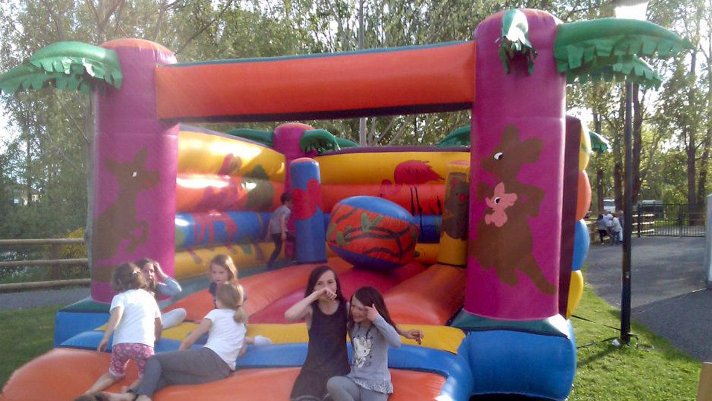 accueil des groupe - jeu d'enfant